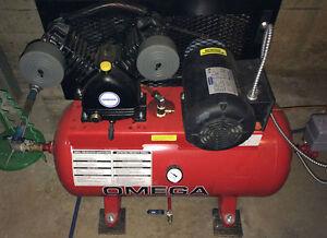 Compresseur à air pour système de gicleur extincteur à sec