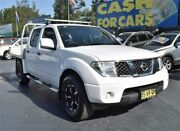 2012 Nissan Navara D40 S7 MY12 RX White Automatic Utility Campbelltown Campbelltown Area Preview
