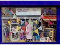 Volunteer for Cancer Research UK - Leith Kids Shop