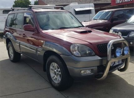 2005 Hyundai Terracan Highlander CRDi Red 4 Speed Automatic Wagon Cannington Canning Area Preview