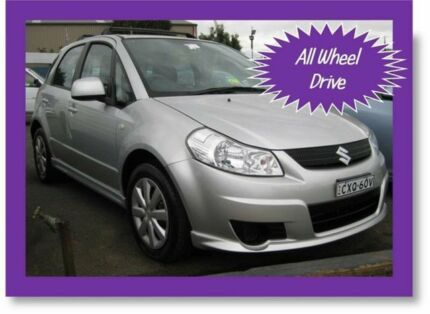 2008 Suzuki SX4 GY AWD Silver 5 Speed Manual Hatchback Narellan Camden Area Preview