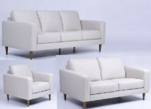 Huge Saving BRAND NEW GENUINE LEATHER SOFA SET ( Sofa + Love sea
