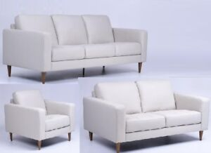 TAX INCLUDED Charming,Classy,QualityTop Grain Leather sofa set