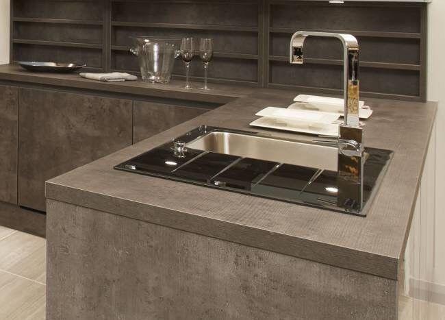 Tekwall Italian Concrete Worktop Wren Kitchens In