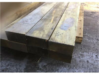 Wooden Sleepers ~ Tanalised ~ Various Sizes