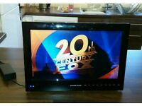 12v/240v Caravan Television with DVD Player