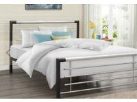 4ft Small Double Metal Bed Frame