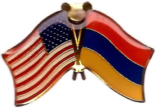 LOT OF 12 Armenian Friendship Flag Lapel Pins - Armenia Flag Pin