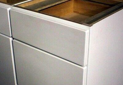 "1 Kraftmaid White Bathroom Vanity Sink Base Cabinets 12"" with drawer and door"