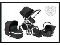 Little Devils 3 in 1 travel system