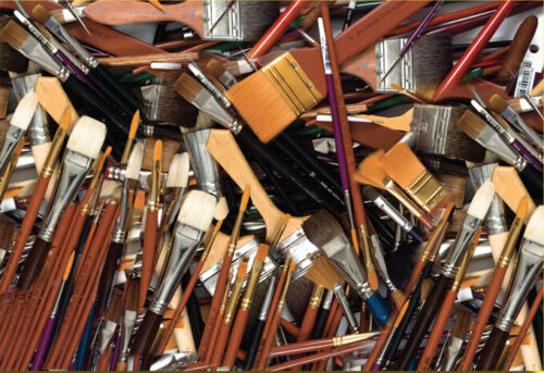 BRUSH BONANZA  50 Artist Brushes List $400. NOW $50.That