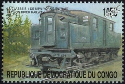 New York Central & Hudson River Railroad NYC & HR Class S-1 Electric Train Stamp