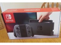 Nintendo Switch, with Mario & Rabbids, brand new, boxed!! With Switch 1 / 2!