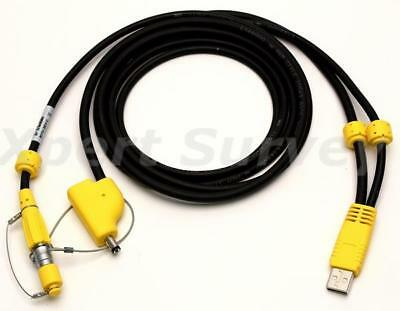 New Trimble 80751 Usb To Lemo Download Cable For R10 Sps985 Gnss Antenna