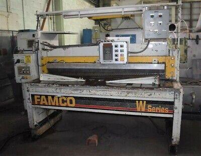 6 X 14 Famco E13754-272 Series W Mechanical Power Squaring Shear - 29216