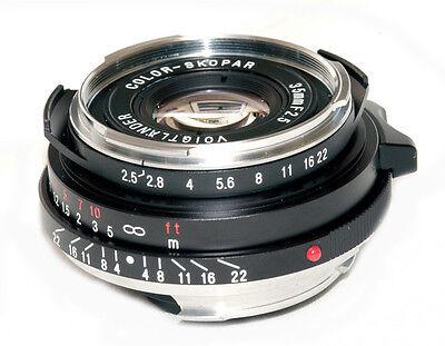 New USA  Voigtlander Color Skopar  35mm f/2.5   35/2.5 Leica M Mount