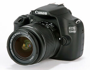 Canon DSLR Eos 1200D/Rebel t5 Camera and 18-55mm kit lens
