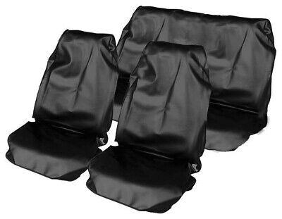 Komplettset Schonbezug Werkstatt Autositzschutz Schutzbezug universal schwarz