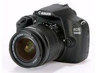 Canon EOS 1200d 18 megapixel digital SLR