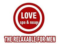 Relaxing Male Massage Therapy