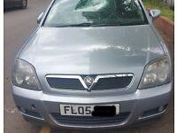 Vauxhall Vectra Front Bumper In Grey Code: 163 Breaking For Parts (2005)