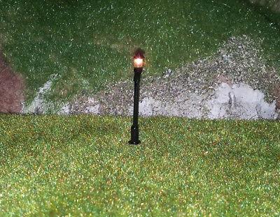 5 Stückneue Modellbaulampen 1-flammig H0, (RM111)