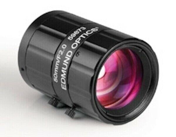 Edmund Optics 59873 50mm F2.0 Compact Industrial C-Mount Machine Vision Lens