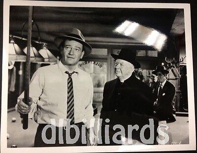 Pool Billiards John Wayne Charles Coburn 8x10 Famous Pool Player Movie Still NEW