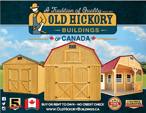 Old Hickory Buildings of Canada- Mini Barns, garages, sheds