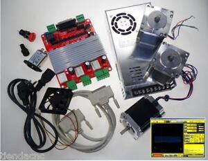 CNC-Kit-Electronica-de-3-Ejes-Interface-USB-MACH3-Fresadora