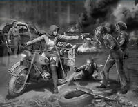 Plastic model kit Scale 1/35 Zombie Hunter - Road to Freedom