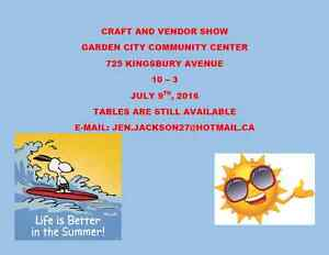 Summer Craft & Vendor Sale