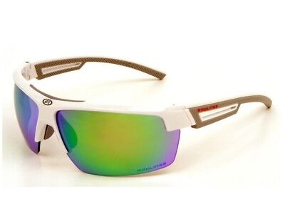 3834f4bb3d1 Rawlings Athletic Adult Shatter-Resistance Sunglasses White Green  10214035.QTS