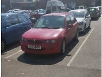 MG ZR for sale