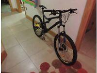 B-Twin Full Suspension Mountain Bike