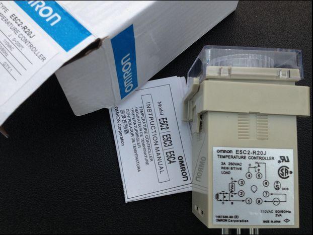 Usado Omron E5C2-R20K-0 regulador de temperatura