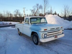 1964 Chevy pickup fleet side short box.
