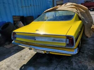 1967 Barracuda looking for a engine or sell car.