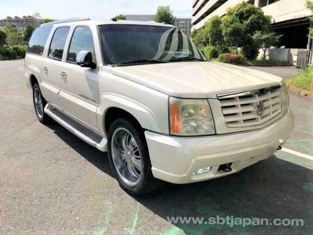 FRESH IMPORT CADILLAC ESCALADE ESV LONG WHEEL BASE 7 SEATER AUTOMATIC | in  Ripley, Surrey | Gumtree