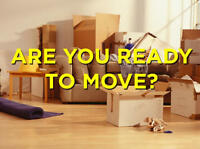 $35/HR Short notice Movers Fully Insured & Bonded!