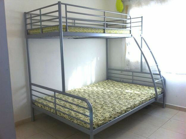 Silver Ikea Triple Sleeper Bunk Beds Double And Single Beds In