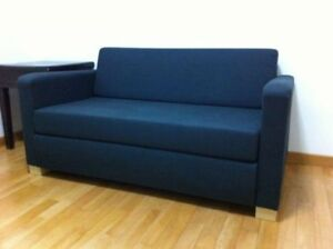 IKEA navy blue sofas excellent condition