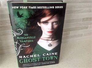 HARD COVER BOOK ''GHOST TOWN'' --THE MORGANVILLE VAMPIRES SERIES