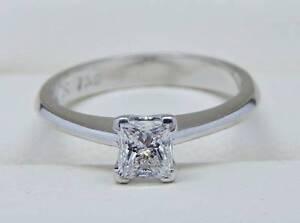 $5K IGI Certified Diamond & 18K WG Engagement Ring - Colourless! Melbourne CBD Melbourne City Preview