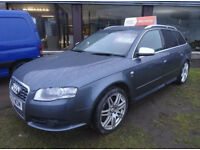 AUDI S4 AVANT4.2 QUATTRO 2007 Petrol, Automatic, Red Lether Interior, Sat Nav, Sunroof