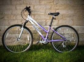Woman's Giant bike