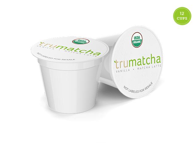 USDA Organic Vanilla Japanese Matcha Blend K-Cups 12 Count