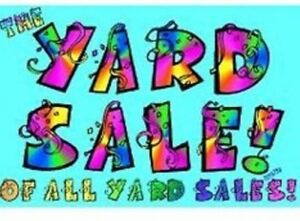 YARD SALE!! East mountain