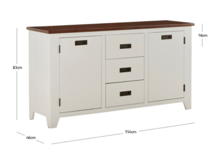 Sorrento Buffet from fantastic furniture. Fantastic Furniture buffet table black   Buffets   Side Tables
