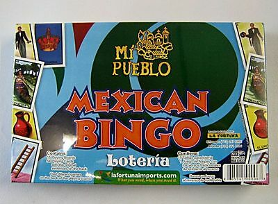 Juego De Loteria   Mexican Bingo 15 Tablets 54 Playing Cards Made In Mexico